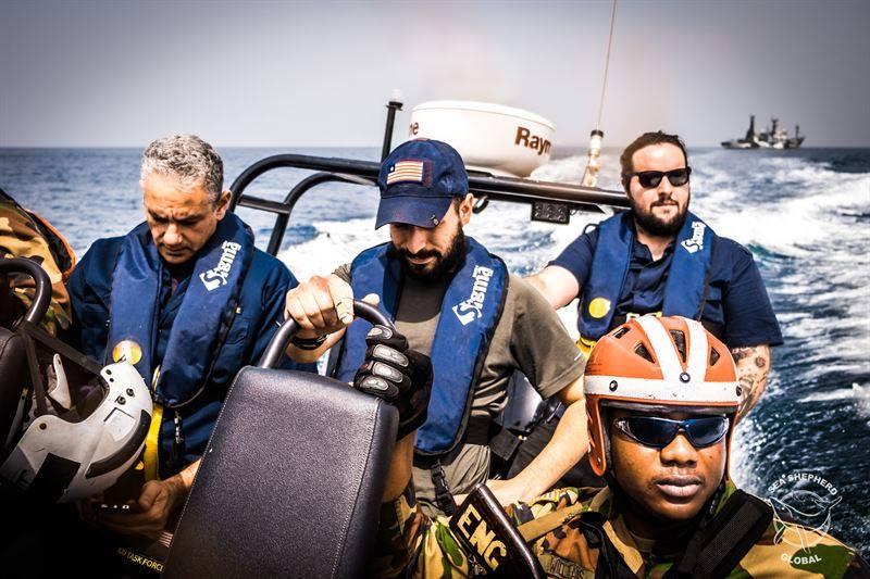 Arrestato peschereccio illegale cinese in acque liberiane