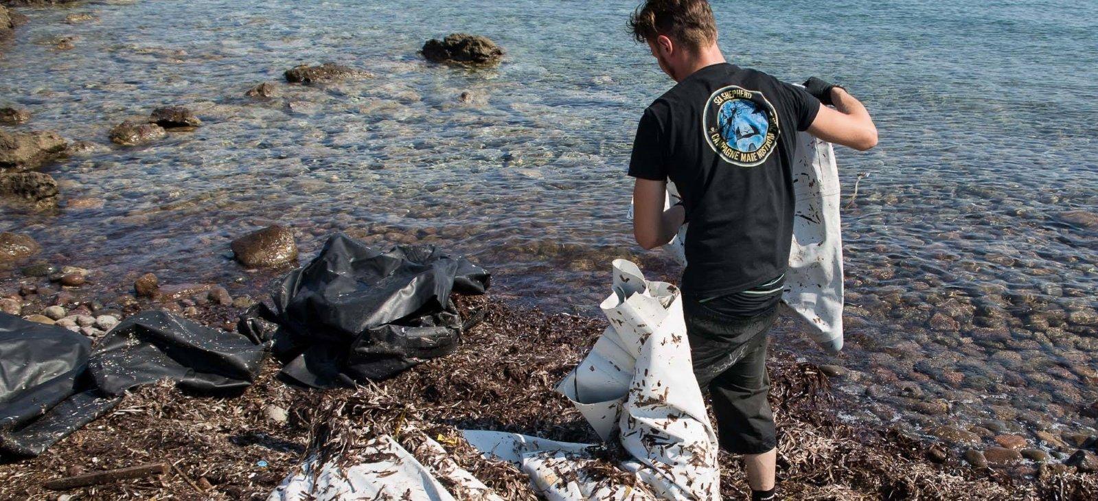 I volontari di Sea Shepherd Italia