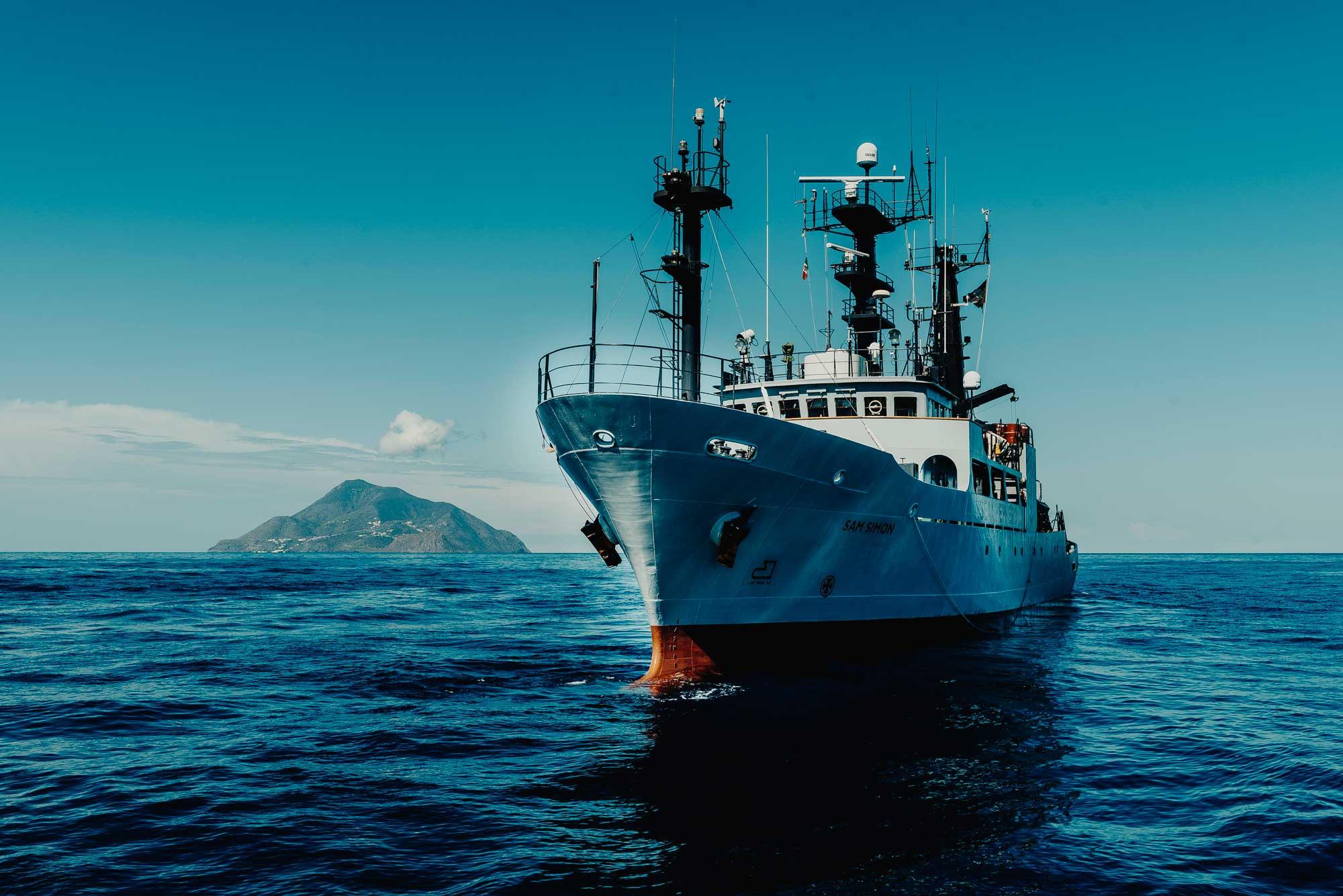 Sea Shepherd alle Isole Eolie